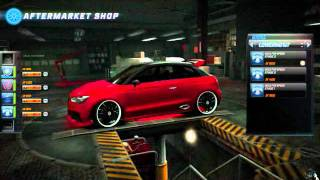 Nfs world Audi A1 clubsport quattro