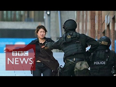 How Australian TV reported Sydney siege