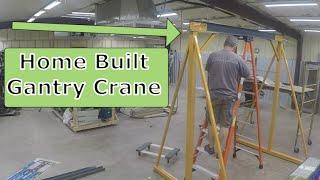 Metwork Monday - Gantry Crane Modification