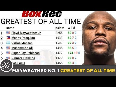 Floyd Mayweather Jr. tinanghal na No. 1 Greatest Boxer of All Time ng BoxRec