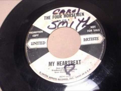 The Four Horsemen - MY HEARTBEAT / A Long Long Time - UNITED ARTISTS 134 - 1958