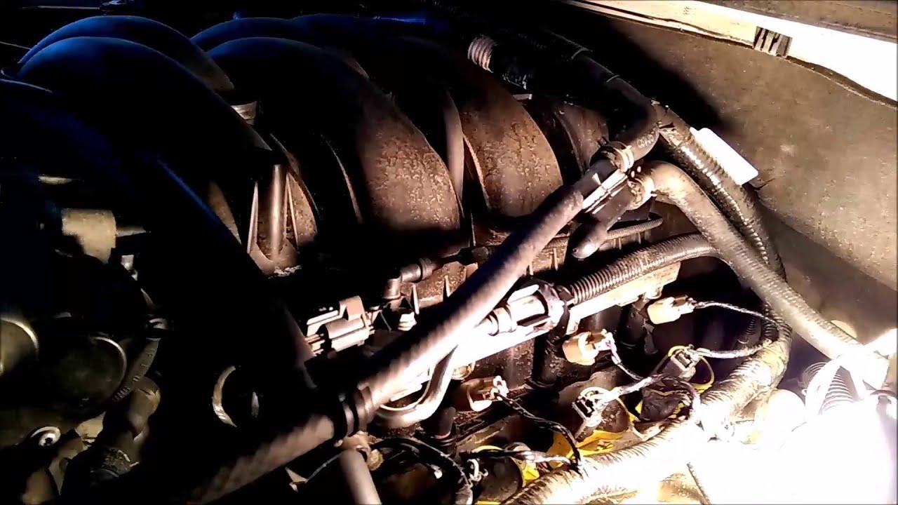 Unusual Vacuum Leak 2008 Ford Explorer 4 6l V8