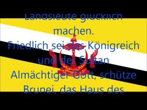 Nationalhymne von Brunei (deutsche Übersetzung)