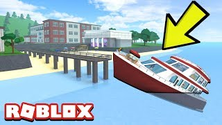 SINKING THE PRINCIPALS YACHT IN ROBLOX HIGHSCHOOL