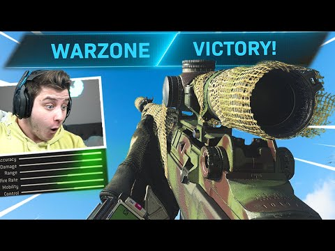 The EBR-14 Is Actually Amazing In Warzone.. 😱