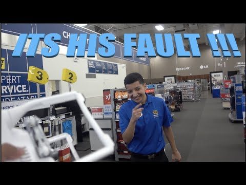 BEST BUY EMPLOYEE COULDN'T HELP!