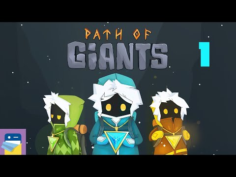 Path of Giants: iOS / Android Gameplay Walkthrough Part 1 (by Journey Bound Games)
