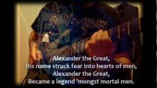 Iron Maiden - Alexander The Great (Somewhere In Time)