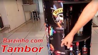 Barzinho com Tambor, único, com tema Rock and Roll,  , artes de garagem