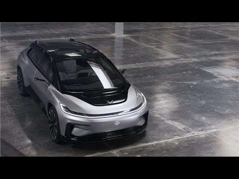 Faraday Future FF 91 Official Review Video - Photo - Pics - Images - First Drive - Exclusive - 2018