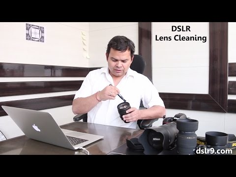 How to Clean DSLR Lens - Lens Cleaning (Hindi)