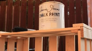 How To Make Wooden Box + Annie Sloan Paint , Skrzynka