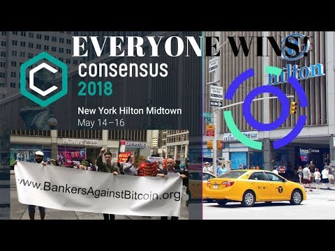 Will Consensus 2018 Create a Market Rally? AION Update! NEW Fiat On-boarding in Town - Winners!!!