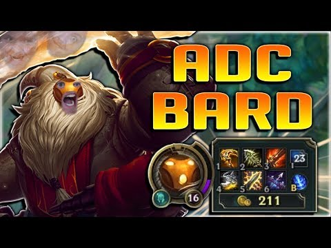 THIS CRIT ADC BARD BUILD IS SO POWERFUL!! ADC BARD GAMEPLAY - League of Legends