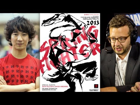 "Mad Catz at NYU Spring Fighter 2013 - Daigo ""The Beast"" Umehara and Seth Killian In Conversation"