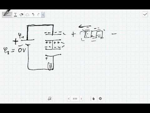 Die Reihenschaltung von Kondensatoren - YouTube