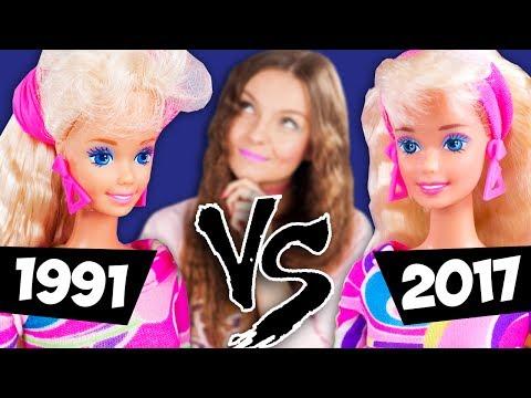 КАКАЯ БАРБИ ЛУЧШЕ? | Обзор-сравнение Barbie Totally Hair | Что с гелем СПУСТЯ 25 ЛЕТ?