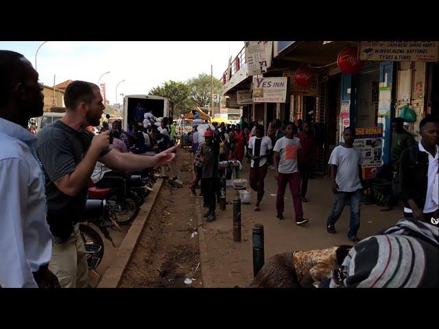 My favorite segment of street preaching in Uganda!