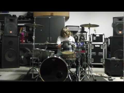 Jason Aldean Hick Town drum cover