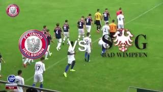 04.09.2016 FC Union Heilbronn vs SG Bad Wimpfen