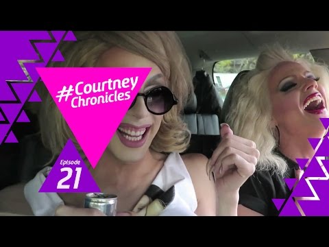 Riding in cars with Alaska & Willam - Courtney Chronicles