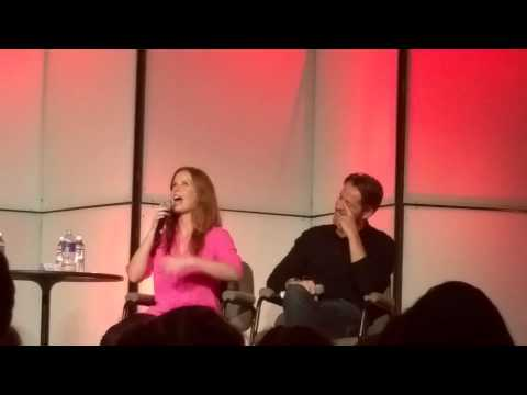 Rebecca Mader & Sean Maguire Talks Blooper during Finale  Denver SPOILERS