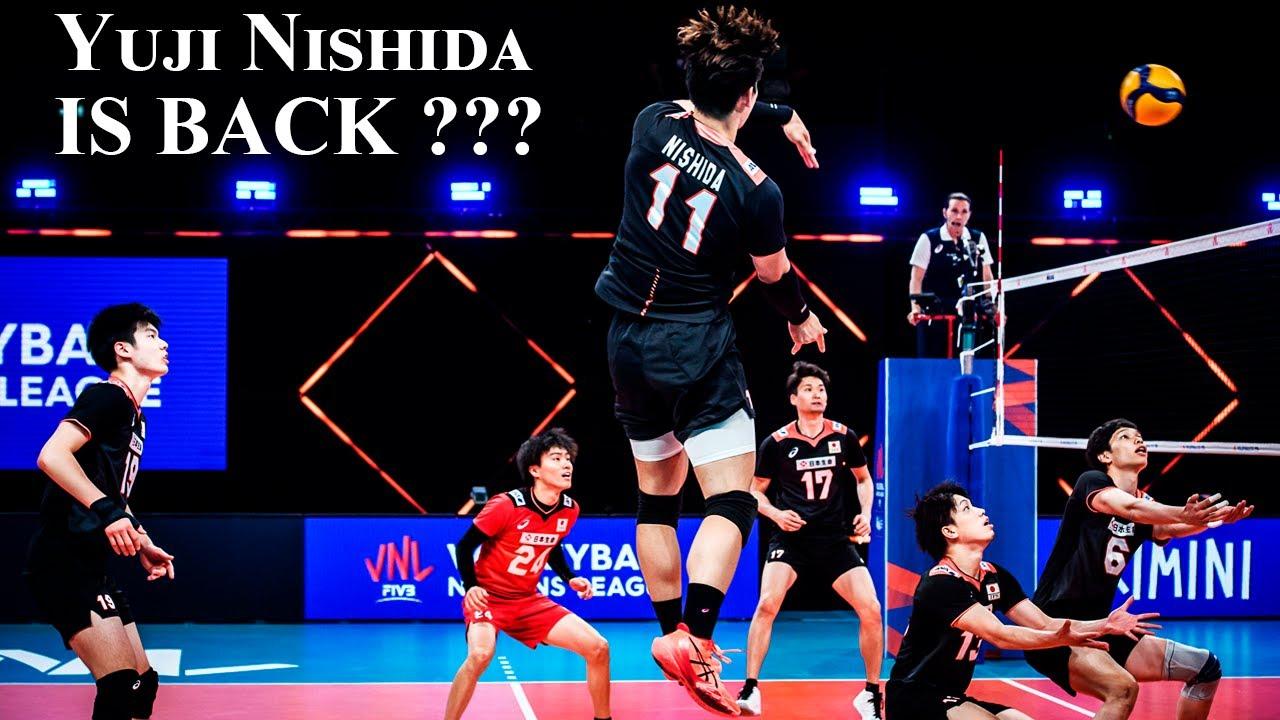 Download Yuji Nishida IS BACK ??? First Match in VNL 2021 | Monster of the Vertical Jump