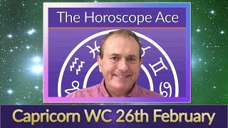 Capricorn Weekly Horoscope from 26th February - 5th March 2018