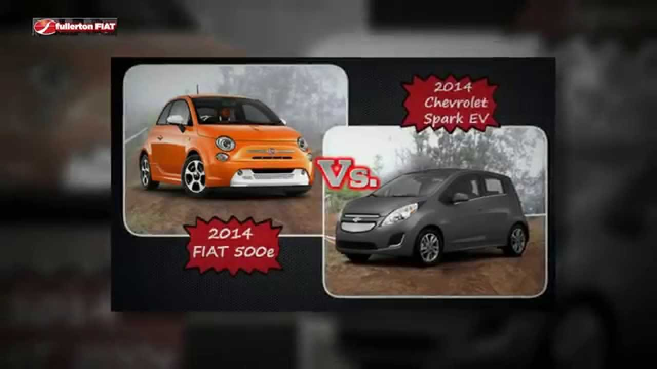 2017 Fiat 500e Vs Chevrolet Spark Ev Dealer Nj