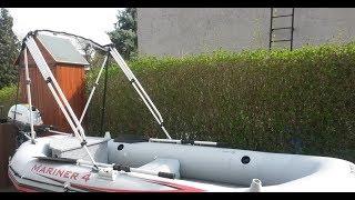 Intex Mariner 4 Modification and Custom with Honda BF 2.3 Motor first Construction