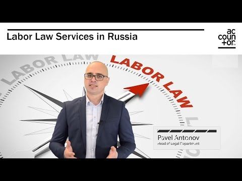 Labor Law Services in Russia