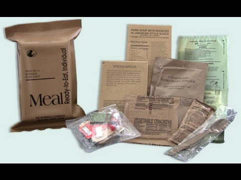 Which Mre Has Marble Pound Cake