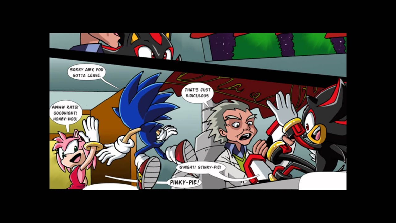 Sonic and rouge mobius unleashed