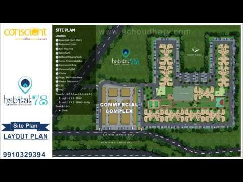 Habitat 78 Affordable Flats in Faridabad @9910329394 - BOOKING OFFICE