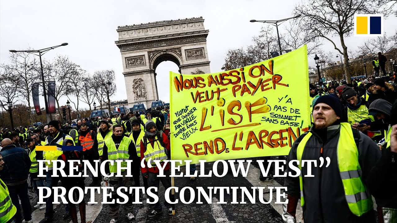 Continued Yellow Vest Protests An Economic Catastrophe For France Youtube