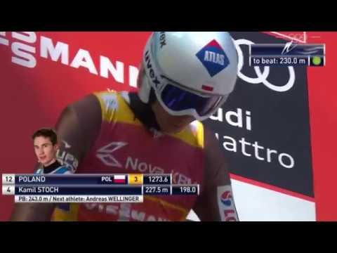Kamil Stoch - 251,5 m Nowy Rekord Polski - Planica 2017 (HD)
