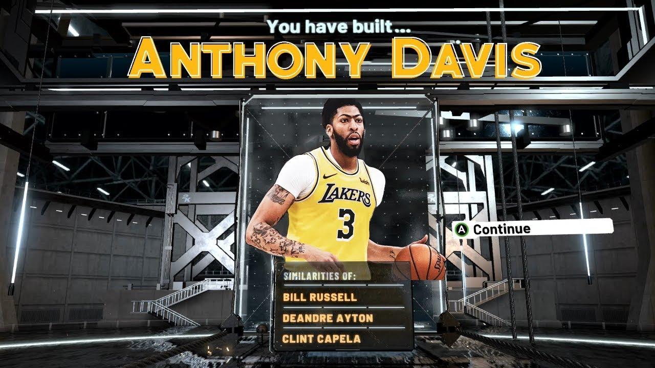 Anthony Davis Build In Nba 2k20 Best Athletic Center Build