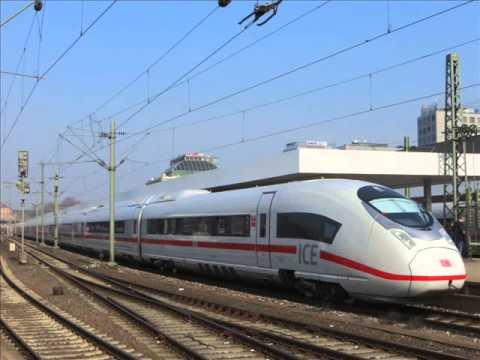 [Sound] Triebzug Siemens Velaro D (Wagennr. 407 006) der DB Fernverkehr AG