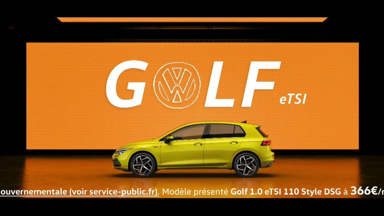"""Musique de la pub Golf SW GTE eTSI Volkswagen """"c'est ça la vie en Golf""""  2021"""