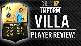 FIFA 17 IN FORM DAVID VILLA (86) PLAYER REVIEW! | FIFA 17 ULTIMATE TEAM(, 2017-03-19T14:29:56.000Z)
