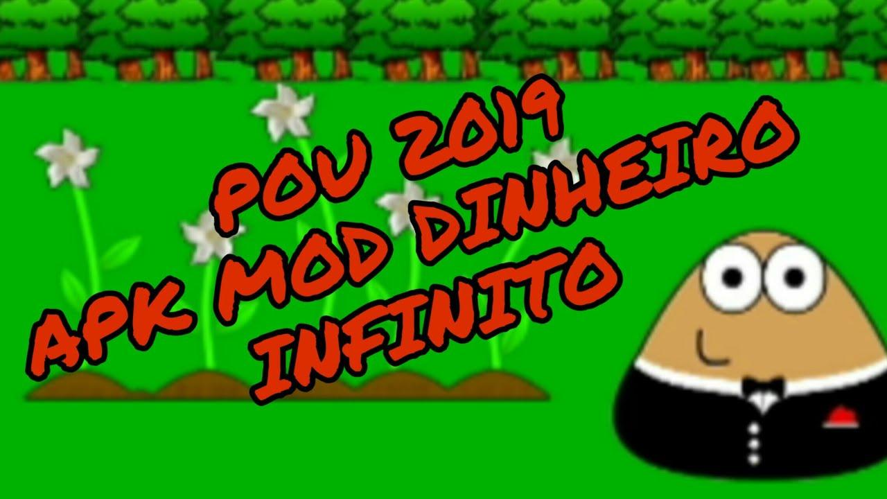 pou apk+mod todo infinito