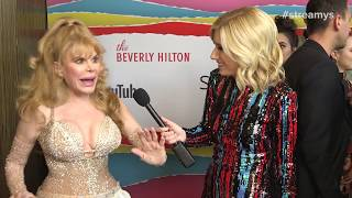 Charo Red Carpet Interview - Streamys 2018