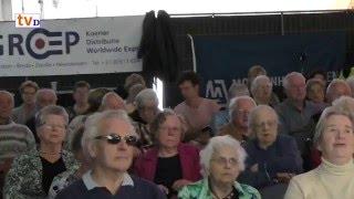 Zanggymnastiek Seniorenmiddag Damovo 2016 met Aalt en Anja Westerman