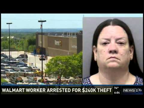 BUSTED! Walmart Employee In Texas Arrested, Accused of Stealing $240K