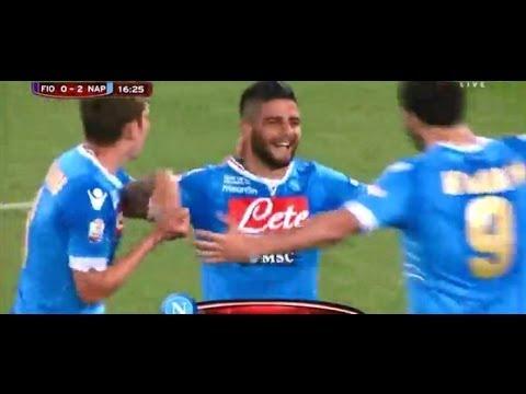 Lorenzo Insigne Second Goal vs Fiorentina 0-2 ( Fiorentina 0-2 Napoli ) 03/05/2014 HD