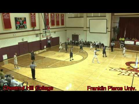 Men's Basketball - Chestnut Hill College vs Franklin Pierce University (11/15/2015)