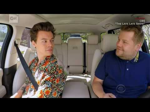 Harry Styles joins 'Carpool Karaoke'
