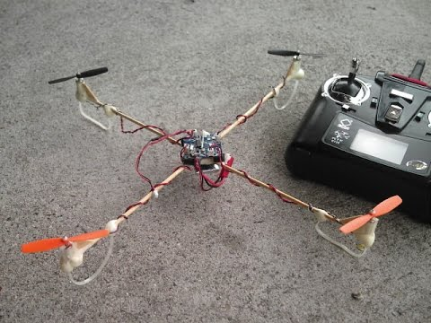 Cheap 18 DIY Flying Drone Quad Copter