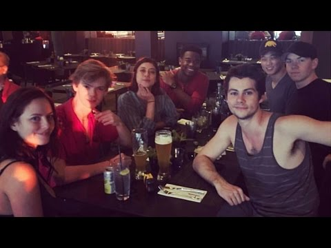First Pic of Dylan O'Brien & The Death Cure Cast Back Together As Filming Resumes