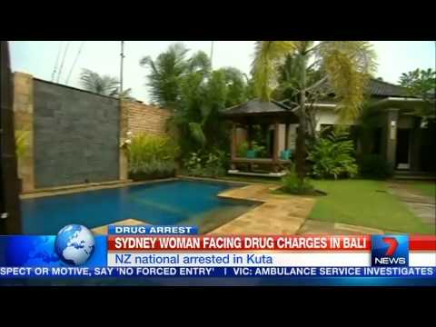 NZ woman held on Bali drugs charges